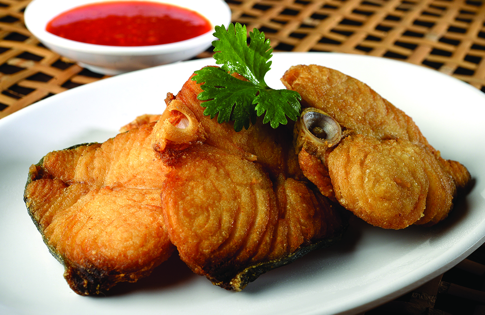 Ming chung restaurant for Fried fish calories